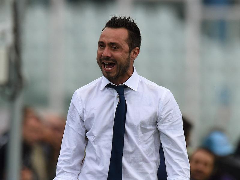 """De Zerbi: """"Ciciretti, infortunio muscolare! Lucioni sottovalutato, recuperiamo tre giocatori"""""""