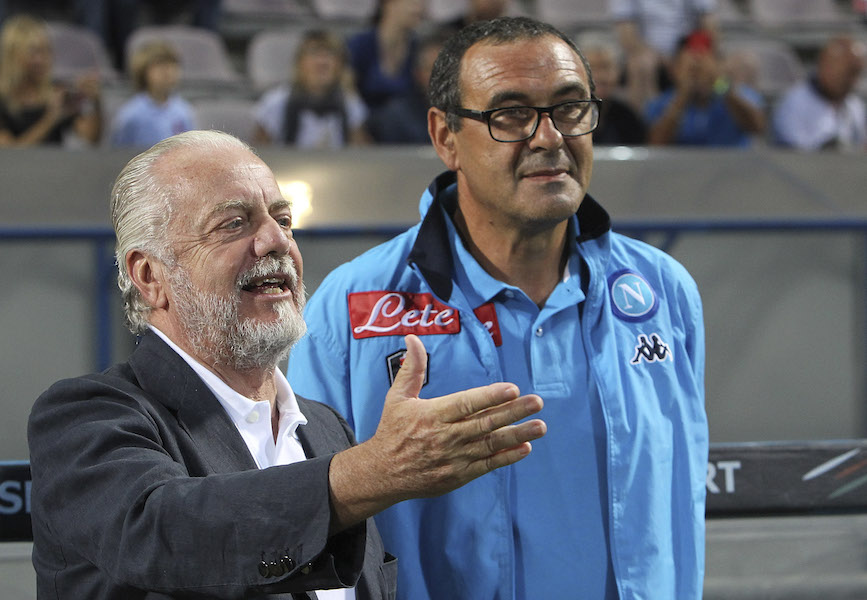 "Napoli, De Laurentiis a sorpresa: ""Ghoulam potrebbe tornare prima di Milik! Su Deulofeu e Verdi…"""