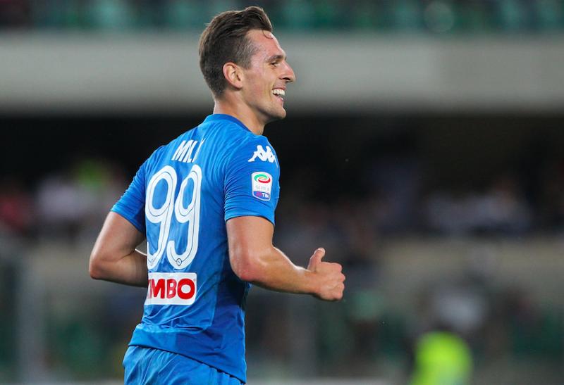 """Napoli, Milik: """"Dopo l'infortunio ho più certezze: sono al 100%, ora tra me e Mertens…"""""""