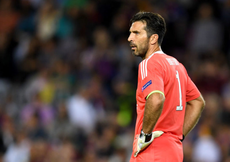 Juve, fissato il rientro di Buffon dopo l'infortunio al polpaccio