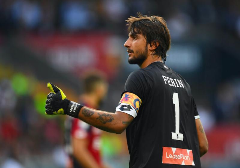 """Perin: """"Non vado al Napoli adesso. E non è detto che Buffon smetta…"""""""