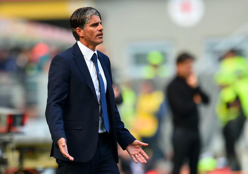 """Cagliari, scatta l'emergenza per le squalifiche. Diego Lopez: """"Due assenze importanti"""""""