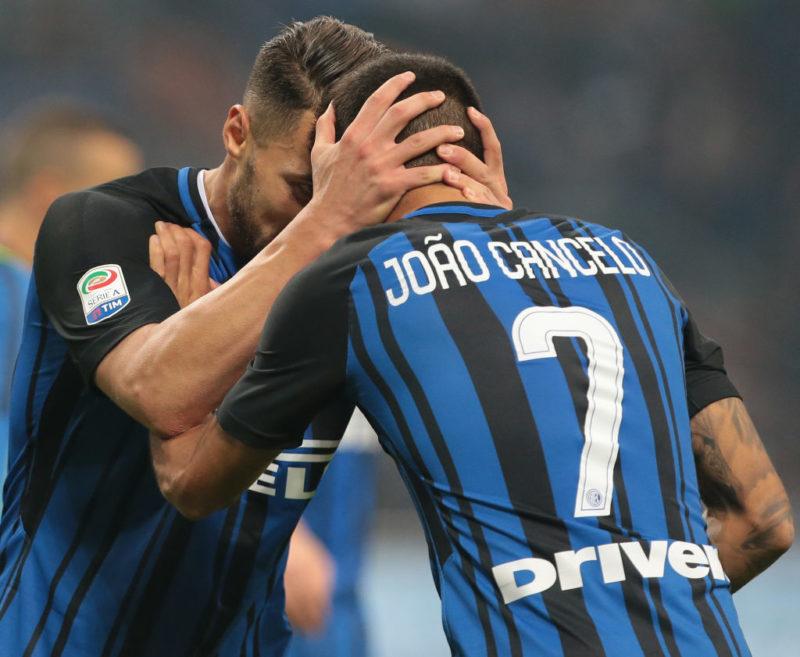 Inter, spunta Santon da titolare: novità per Cancelo, la formazione anti-Atalanta