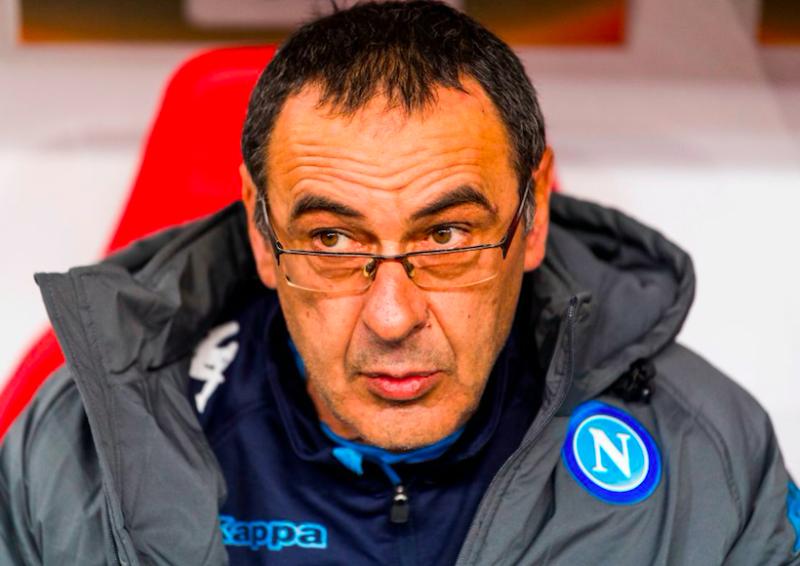 """Sarri: """"Milik non gioca dall'inizio: sostituzione certa! Meno gol subiti con Mario Rui che con Ghoulam"""""""