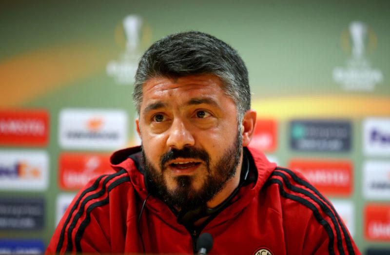 """Gattuso: """"Suso rientrato, Kalinic sta bene. Sono tranquillo con Zapata e Musacchio"""""""
