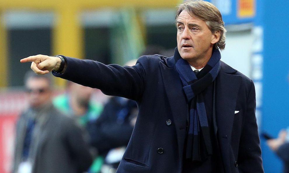"""Mancini: """"Jovetic non sta bene, ecco quando torna! Il crollo di Perisic, Handa e Kondogbia…"""""""