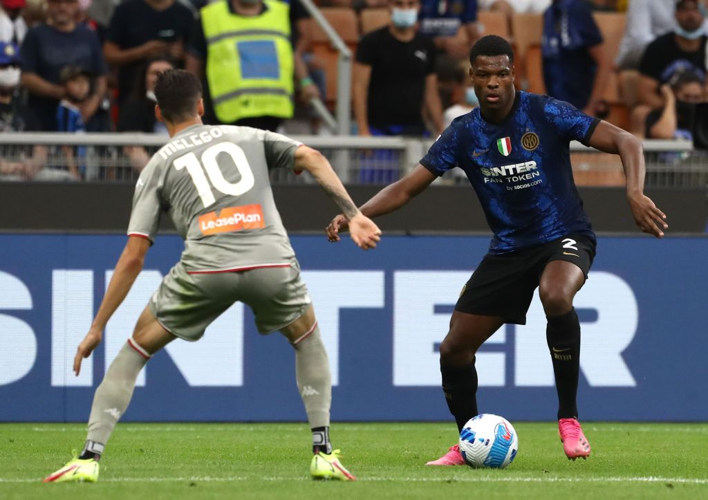 Cambiano le gerarchie dell'Inter, Dumfries verso una maglia da titolare con la Samp?