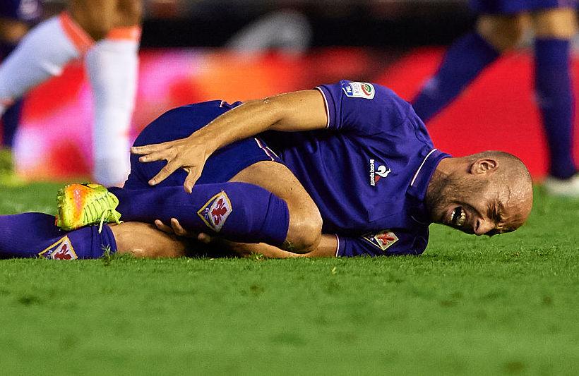 Fiorentina, infortunio per Borja Valero: neanche in panchina! Per Babacar…