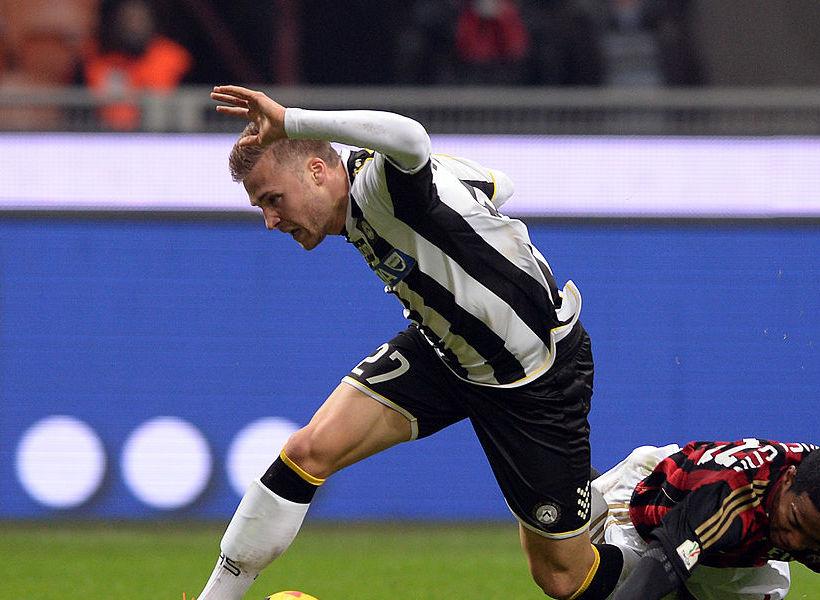 Udinese, doppio De Paul e Thereau in gol in amichevole. Ma preoccupano Perica e Widmer