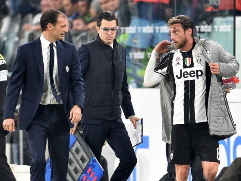 Juve, Marchisio e l'infortunio: le novità. E Lemina rischia un lungo stop