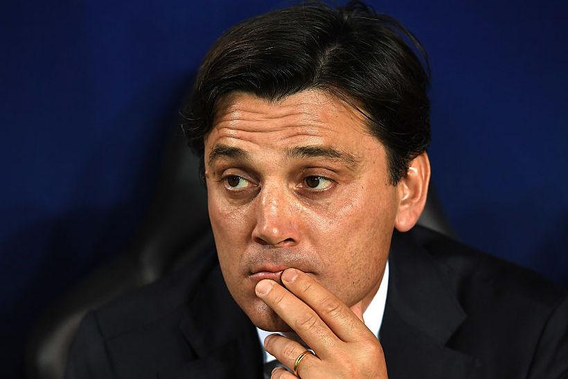 """Montella: """"Suso era affaticato, Rodriguez stanco. Andrè Silva? Segnerà alla prossima…"""""""