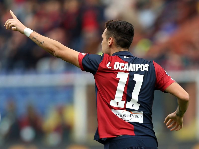 Ocampos e le correnti alternate, Juric cambia idea. Con un messaggio a Taarabt