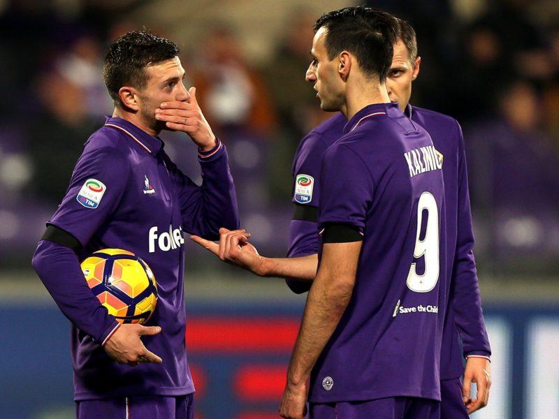 Fiorentina, le ultime dall'infermeria: Kalinic migliora, Vecino no. E c'è una speranza per Berna…