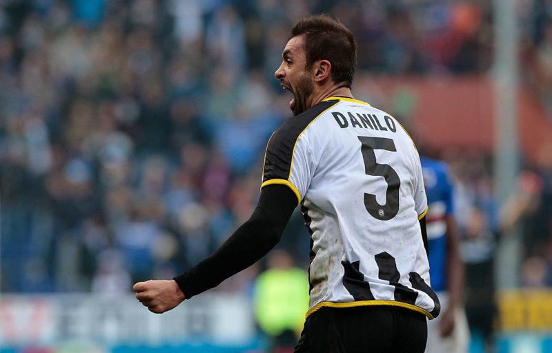 Udinese, differenziato per Danilo. Zapata non segna? Ecco cosa si inventa Delneri