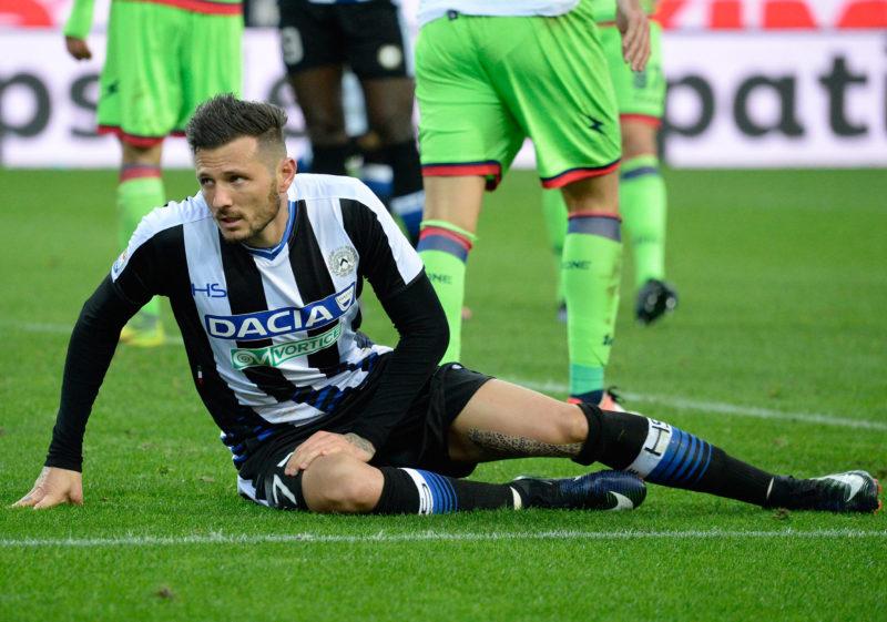 Udinese, stop Badu: forte botta alla caviglia. Thereau ai box, Felipe e Samir…