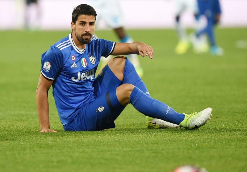Juve, infortunio al ginocchio per Sami Khedira: subito esami, c'è preoccupazione