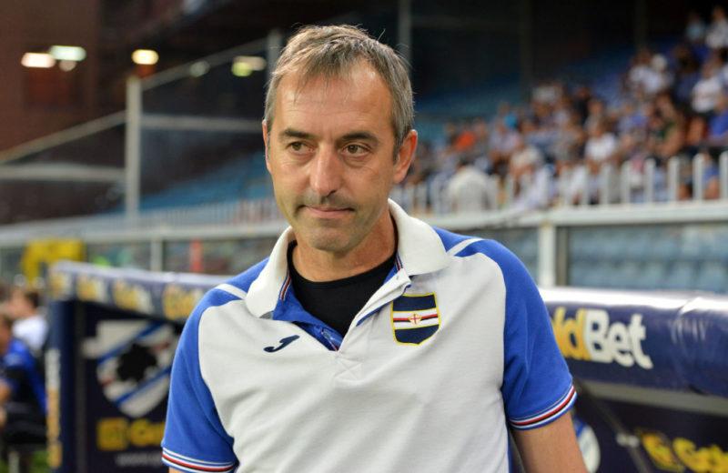 """Sampdoria, Giampaolo: """"Quagliarella? Decido domani. Zapata e Kownacki insieme…"""""""