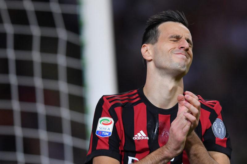 Milan, altra prova disastrosa per Kalinic: la Gazzetta motiva così il suo 4,5