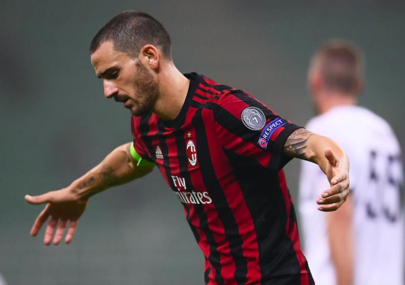 Milan, problemi superati per Bonucci: ce la fa per il Torino