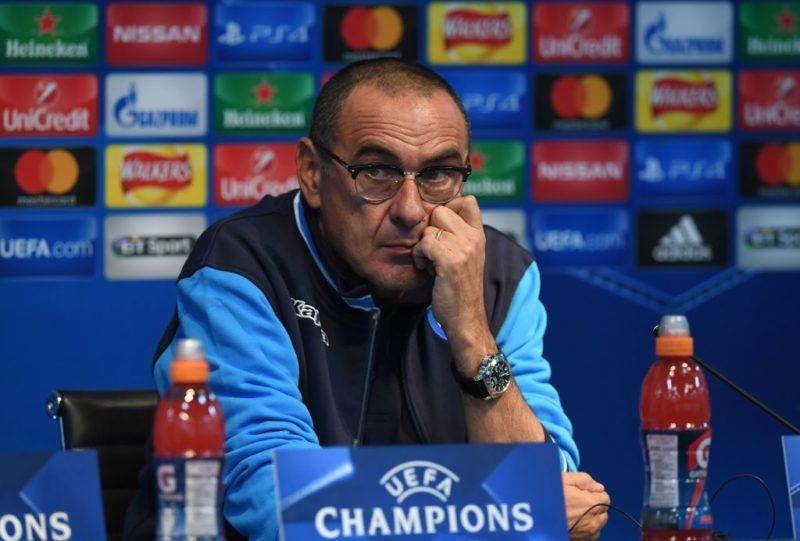 """Sarri: """"Vi faccio un annuncio sul turnover per Insigne! Zielinski tornerà titolare, Rog e Mario Rui…"""""""