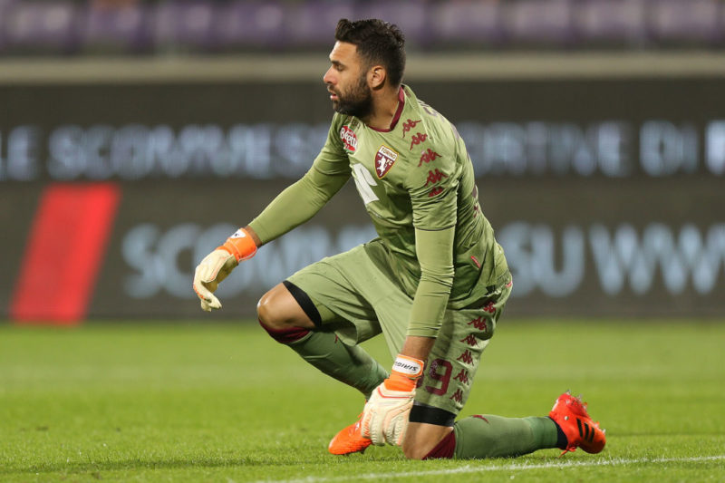 """Infortunio Sirigu, Mazzarri aggiorna: """"Trauma contusivo al lombo sacrale"""""""