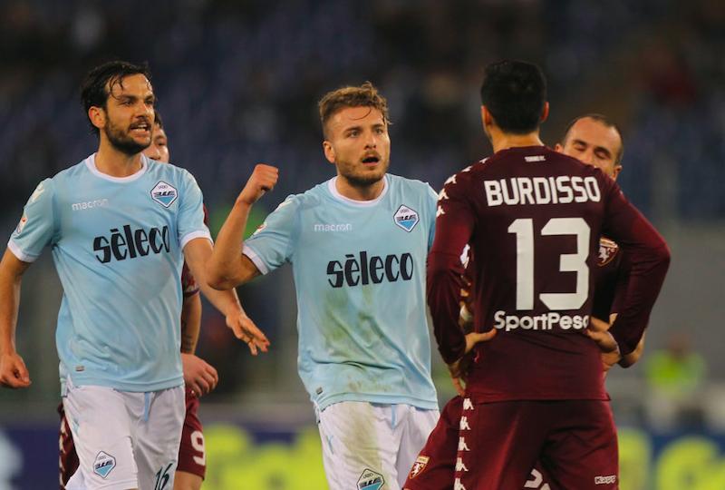 VOTI UFFICIALI – Lazio-Torino: punito Immobile! Bene Milinkovic, delude Belotti