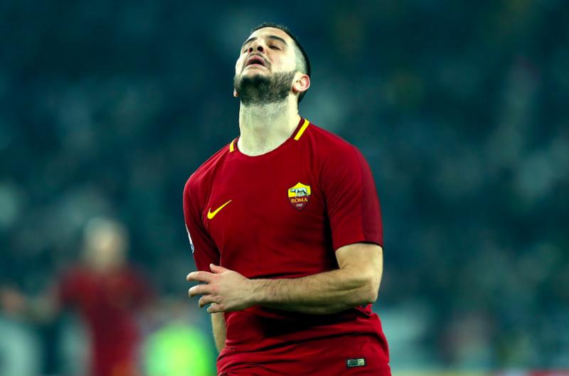 """Roma, problemi fisici per Manolas. Di Francesco: """"È uscito per tre motivi"""""""