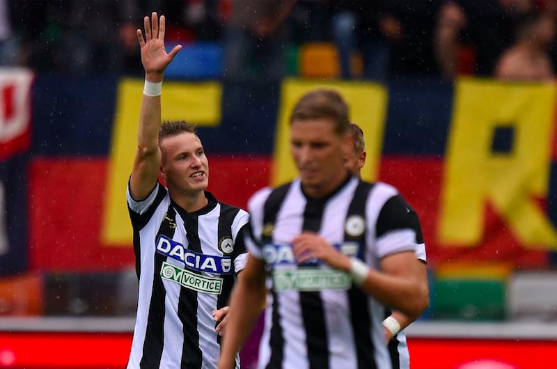 Udinese-Crotone, le formazioni ufficiali: fuori Jankto e De Paul, Trotta titolare
