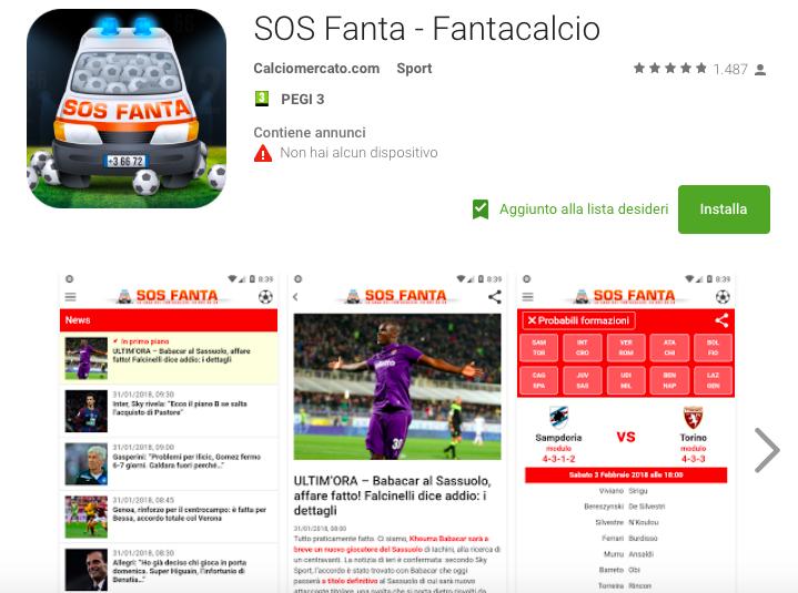 Trovate tutto anche sulla nostra app gratuita: nuove sezioni per il ritorno del campionato