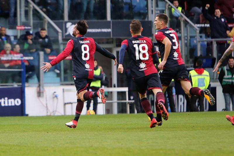 Cagliari, verso l'Udinese: torna Cigarini e Diego Lopez cambia anche l'attacco