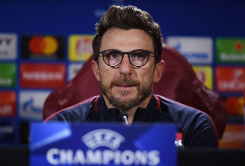 """Di Francesco: """"Florenzi e Manolas in dubbio! Schick ha il 50% di possibilità, come Under. E Perotti…"""""""