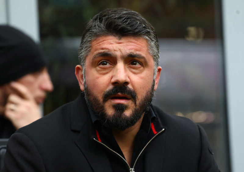 """Gattuso: """"Kalinic è cambiato: basta fischi! Voglio più gol da Suso, ho un dubbio di formazione"""""""