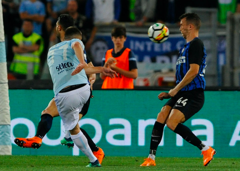 Clamoroso Gazzetta, cambia la decisione sul gol di Marusic. E l'assist di Milinkovic… M-e1526869037799