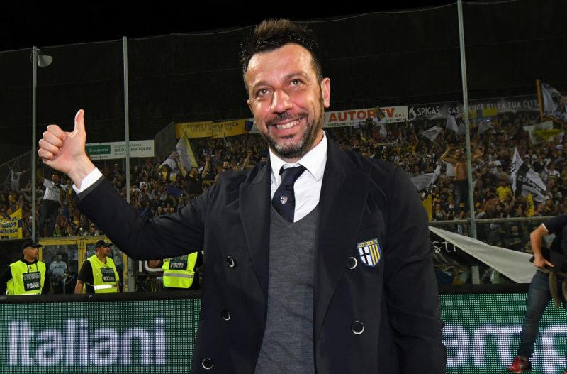 """Parma, D'Aversa: """"Confermo la formazione, Di Gaudio a rischio. Ciciretti ci sarà"""""""