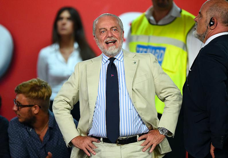"""De Laurentiis: """"Icardi, era fatta per 65 milioni! Ma non è stupido: sa che al PSG…"""""""