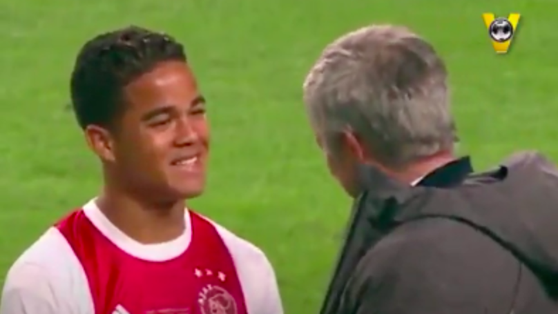 """🎥 VIDEO – Quando Mourinho fermò Kluivert: """"Voglio te, sei speciale! Vieni al Manchester"""""""