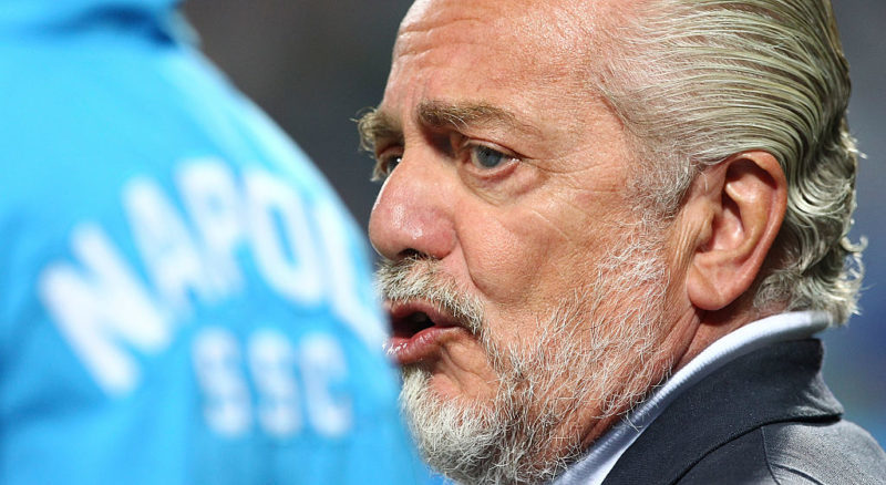 "De Laurentiis: ""Cavani per tornare riduca l'ingaggio! Offerti 58 mln per Koulibaly, su Meret…"""