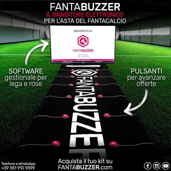FantaBuzzer, il nuovo battitore d'asta professionale: una svolta per il vostro fantacalcio
