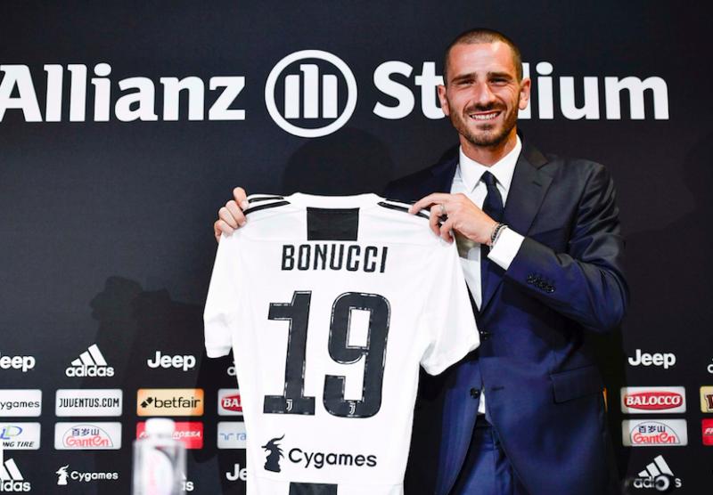 """Bonucci boom: """"L'anno al Milan mi ha tolto vittorie! Vi dico un aneddoto con Allegri"""""""
