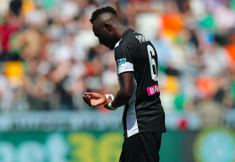 "Udinese, Pradè: ""Folle perdere così Fofana. Ma non toccate Stryger Larsen"""
