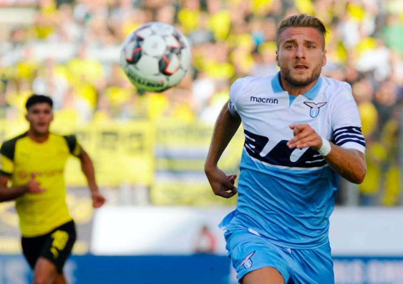 La Lazio perde con il B. Dortmund: il vero Milinkovic, Immobile a secco, c'è un flop