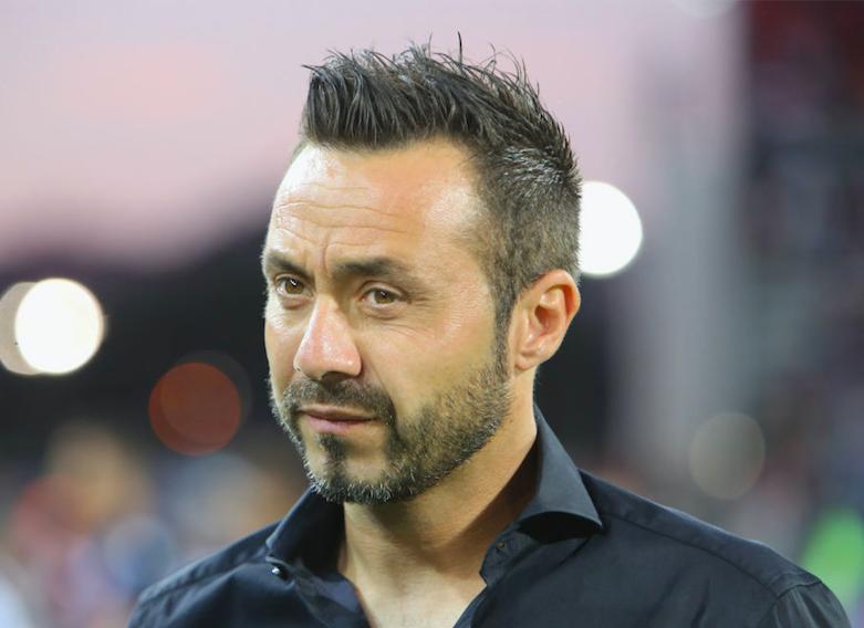 """De Zerbi: """"Berardi, mi infurio se non fai 10 gol! Ho deciso il rigorista, Locatelli così non gioca"""""""