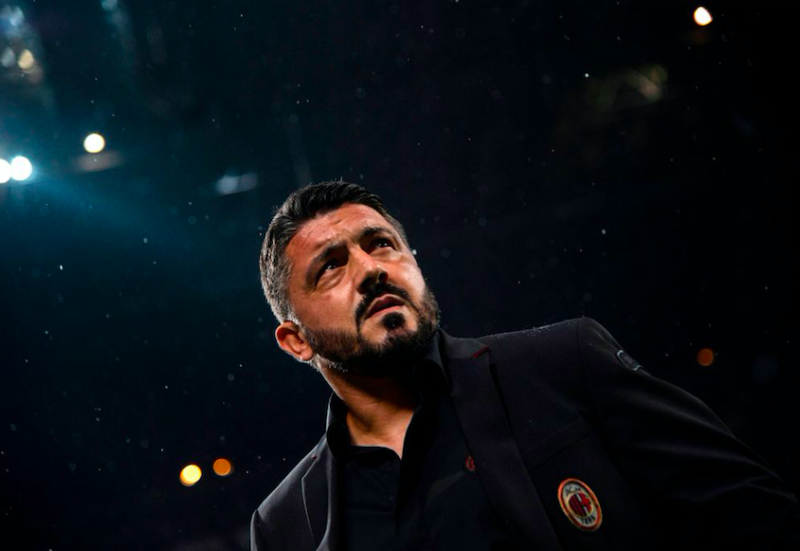 """Gattuso: """"Higuain non riposa, gioca anche Reina! Cutrone ha fastidio, Suso e Bonaventura…"""""""