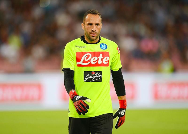 """Il Napoli perde Ospina, annuncio del club: """"Non si allenerà per alcuni giorni"""""""