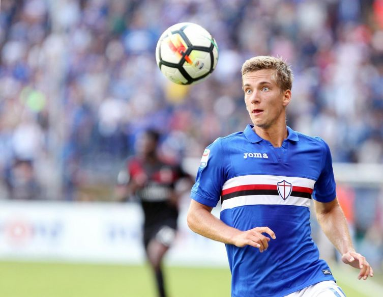 Samp-Spal, le formazioni ufficiali in Coppa Italia: c'è Paloschi, sorpresa Praet