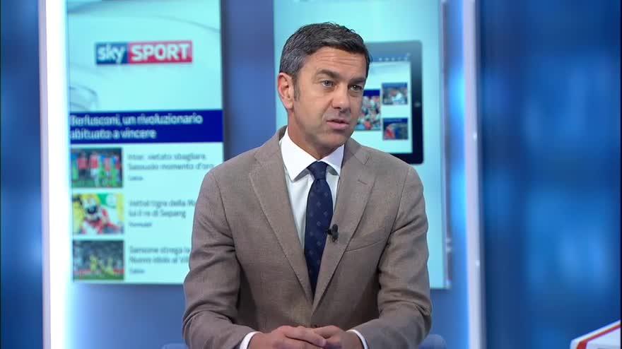 """Costacurta: """"Sensi oggi è il miglior giocatore italiano, un altro esploderà a breve"""""""