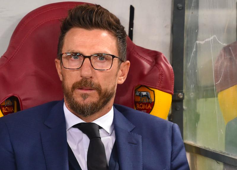 """Di Francesco: """"Manolas non cammina: è a rischio! Ho deciso per Perotti e Pastore, Florenzi terzino"""""""