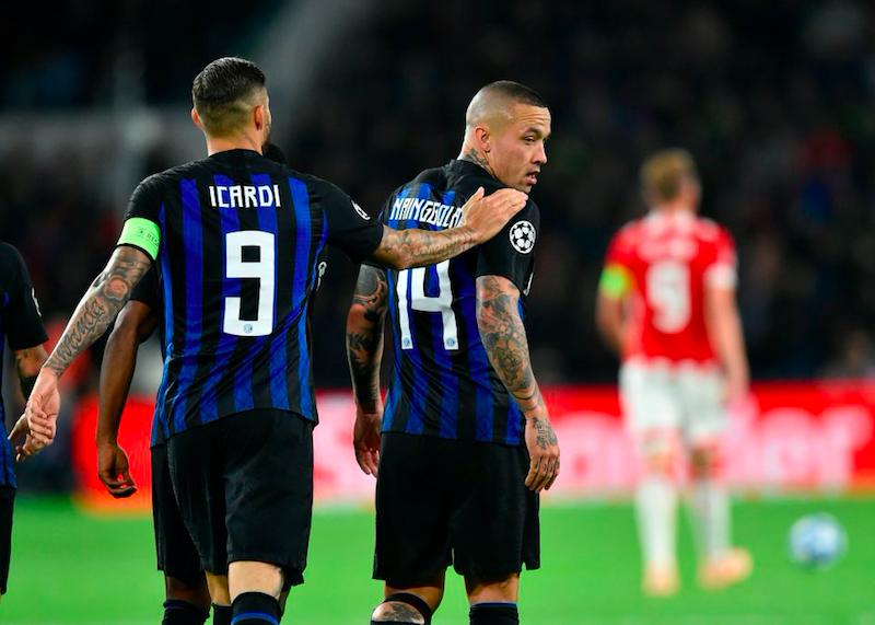 """Inter, Gazzetta: """"Icardi, Nainggolan e de Vrij: cosa filtra dall'infermeria verso la Lazio"""""""