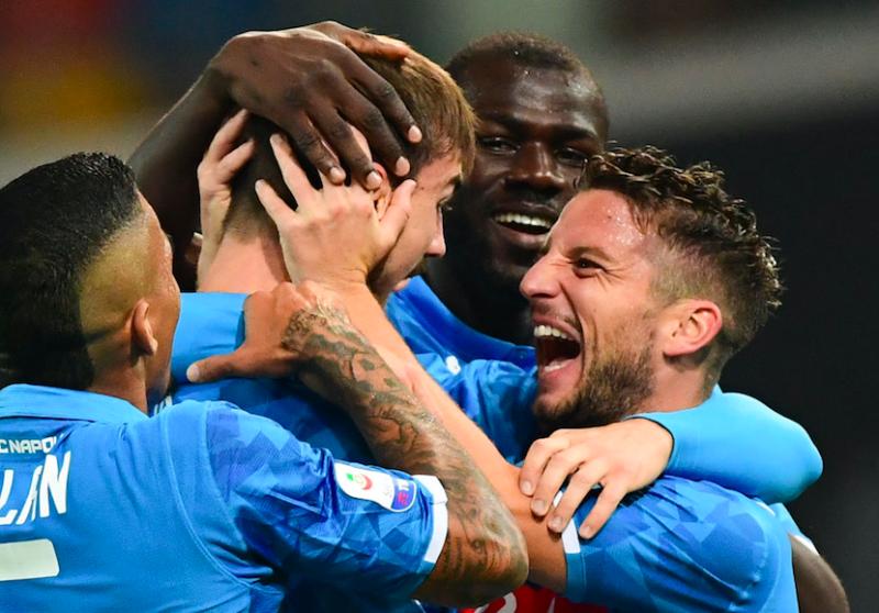 Napoli, le prime prove di Ancelotti verso la Spal: da Meret e Hysaj a Mertens