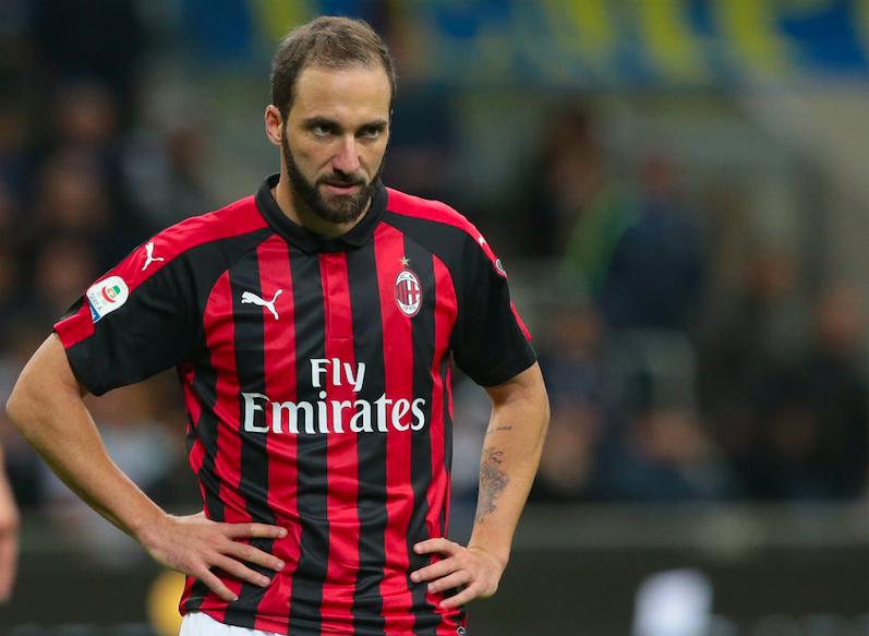 Milan, Higuain può dire addio: decisa la gestione per le prossime due partite, Cutrone…